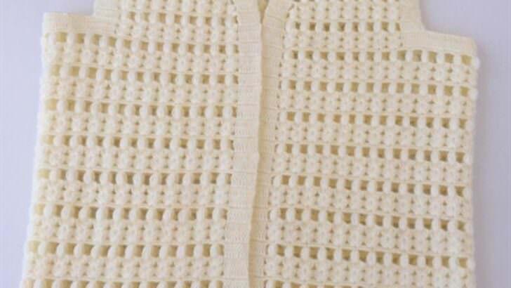 Fıstıklı su taşı yelek modeli yapımı