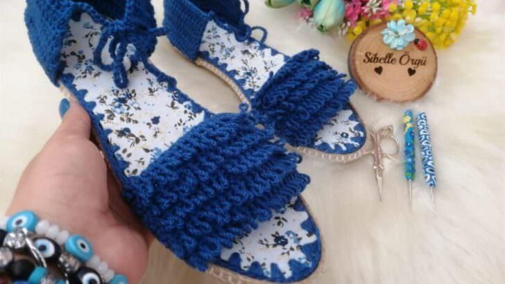 Kolay sandalet yapımı