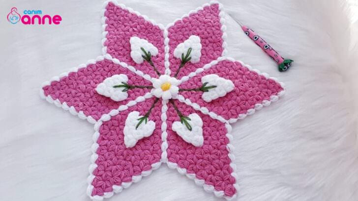 Yeni tasarım mum çiçeği lif modeli yapımı
