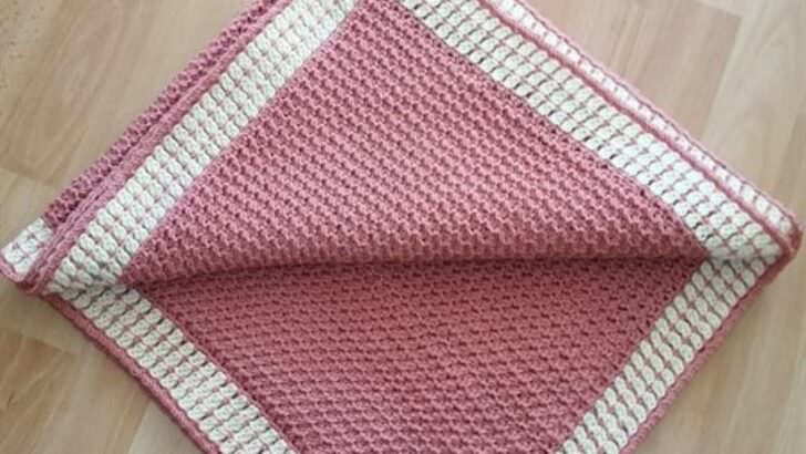 Çok kolay bebek battaniyesi yapımı