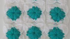 Bebek battaniyesi kırlent modeli yapımı