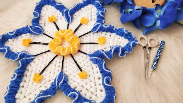 Beliz çiçeği yeni tasarım lif yapımı