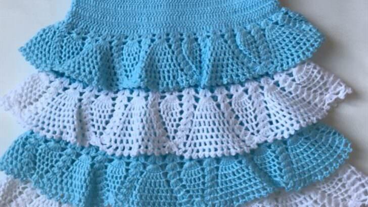 Tığ İşi Bebek Elbisesi Yapımı