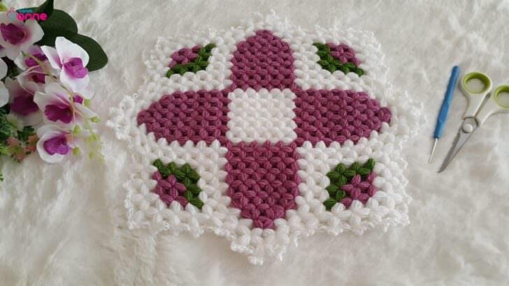 Süreyya çiçeği kare lif yapımı