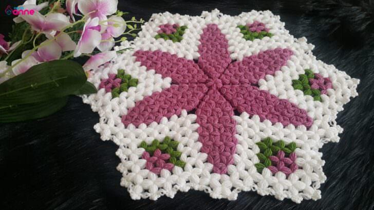 Süreyya çiçeği yuvarlak lif modeli yapılışı