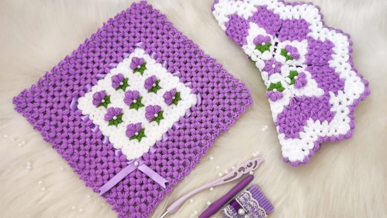İncili çiçek bahçesi lif yapımı
