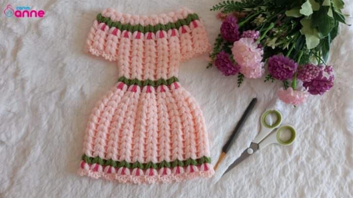 Yeni vintage tarzı elbise lif modeli yapımı