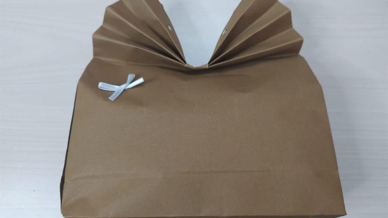 Karton ile kolay hediye paketi yapımı