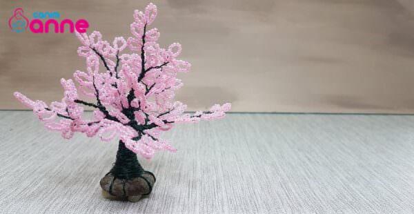 Kum boncuk ile ağaç nasıl yapılır