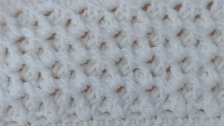 Tığ işi battaniye örnek anlatımı