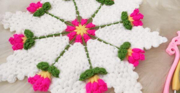 Lale çiçeği lif modeli yapılışı