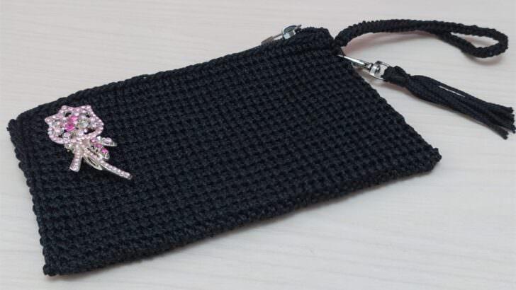 Makrome ipi ile el çantası yapılışı