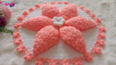 Zambak çiçeği lif modeli yapılışı