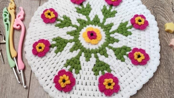 Yeni petunya çiçeği lif modeli yapımı
